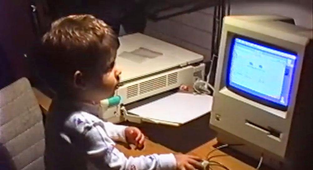 Aaron Swartz de niño