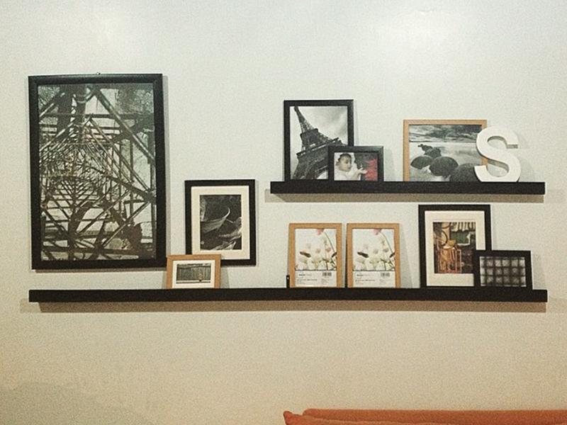 Trabajo en casa muro como elemento decorativo