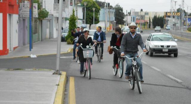 Recorrido en bicicleta por Pachuca