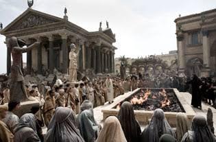 El Ágora, el lugar público (escena de la película)