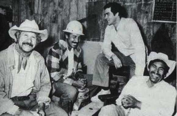Ignacio López Tarso, Salvador Sánchez, José Alonso y José Carlos Ruiz
