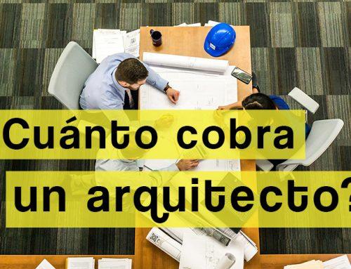 Aranceles o ¿cuánto cobra un arquitecto?